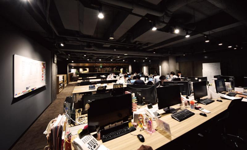 風評被害・誹謗中傷対策なら株式会社ジールコミュニケーションズ レピュテーションリスク研究所 オフィス内風景
