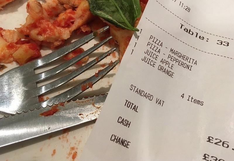 端数処理で4円を謎加算した飲食店をネット告発