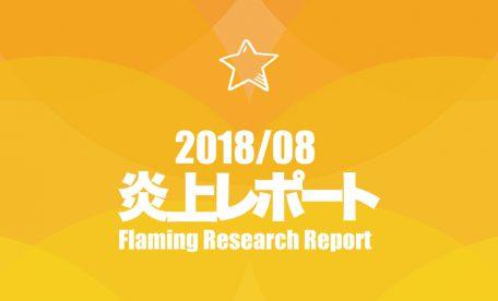 2018年8月更新!炎上リサーチレポート~人工知能の使い方が非生産的だとして炎上!~